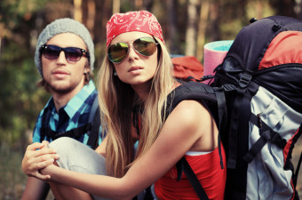 New breeds of backpackers.