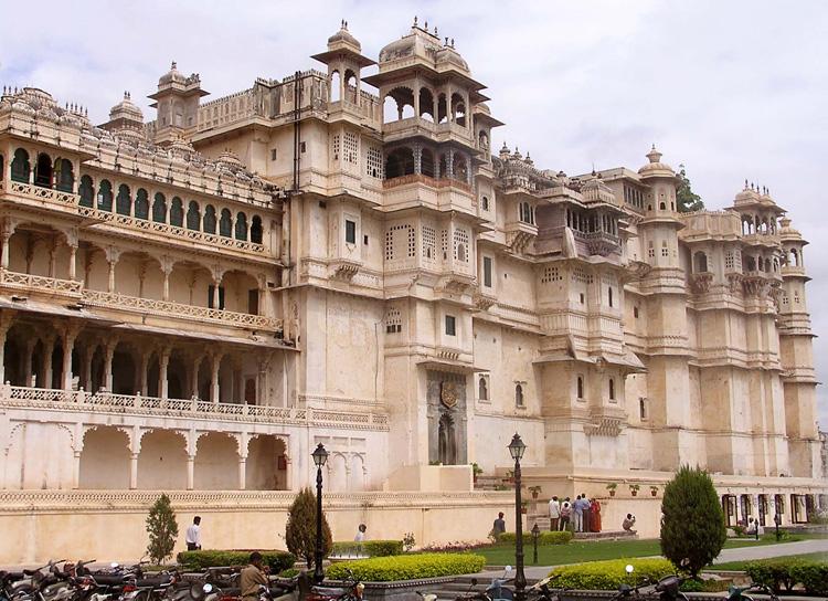 Udaipur City Palace India.